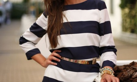 Hot Summer Stripe Dress