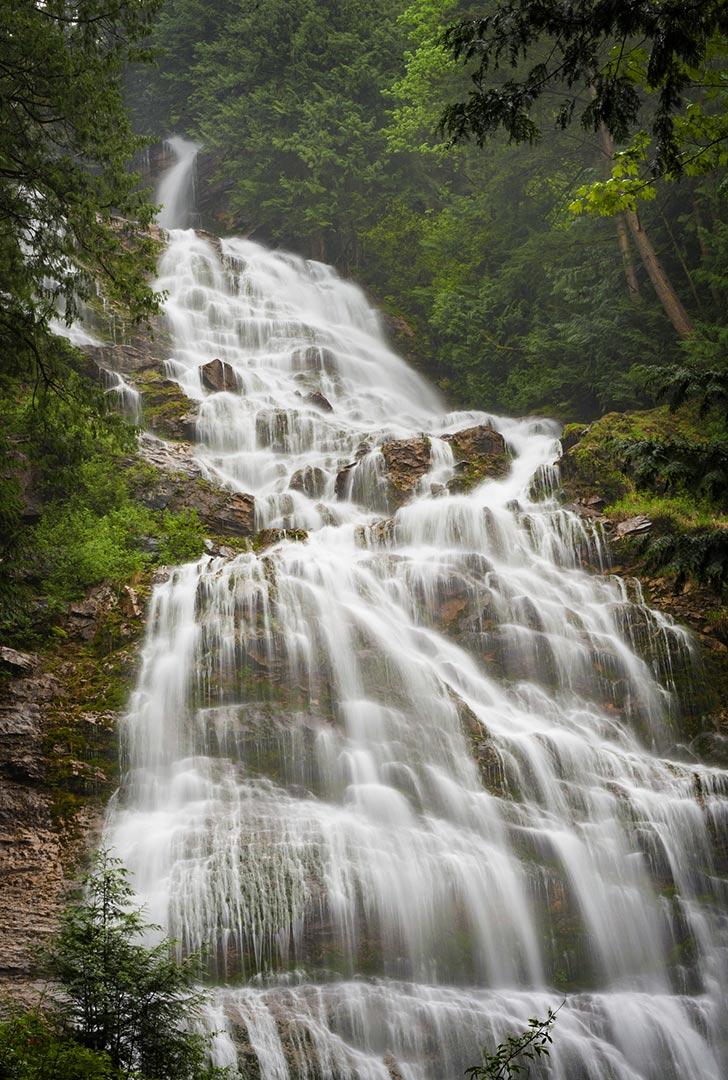 Bridal Veil Falls, British Columbia, Canada
